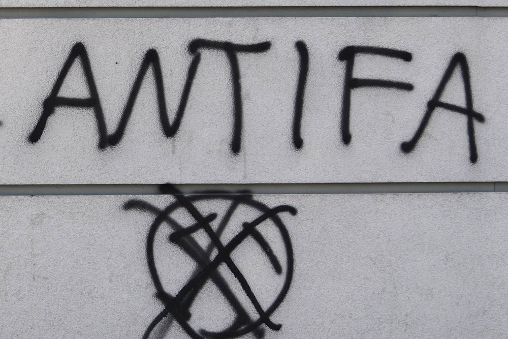 Antifa Graffiti