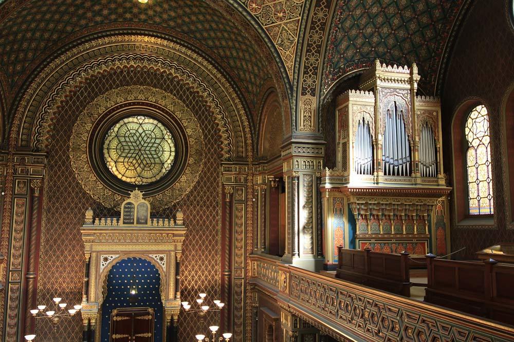 Innenaufnahme einer Synagoge