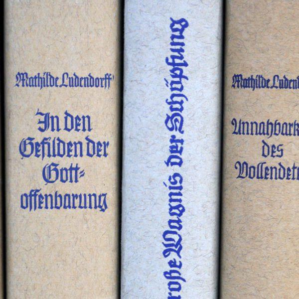 Philosophische Werke von Mathilde Ludendorff