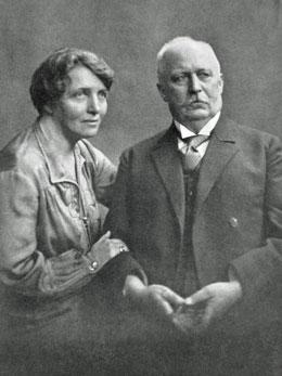 Mathilde und Erich Ludendorff