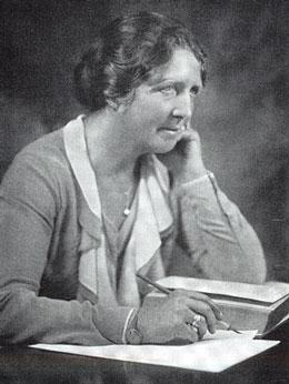 Portrait von Mathilde Ludendorff