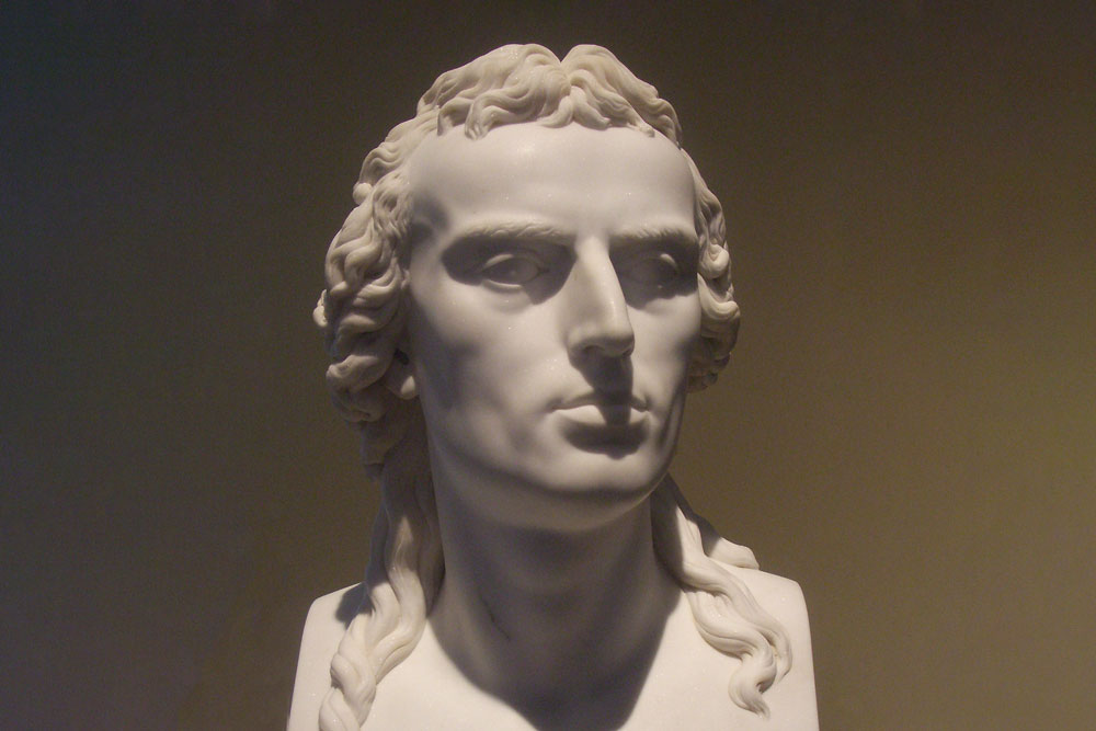 Statue von Dannecker Schiller