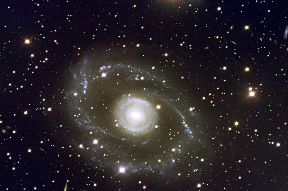 Galaxien und Sterne