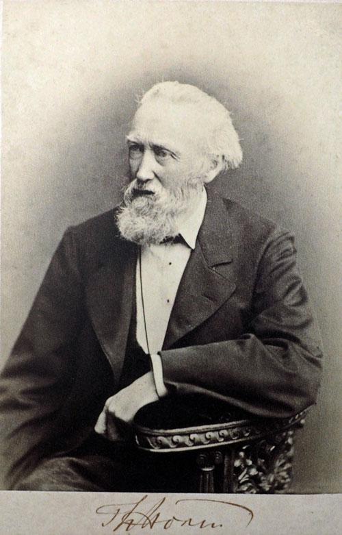Portrait von Theodor Storm
